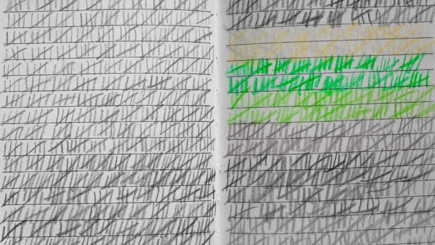 Kalender mit Strichliste