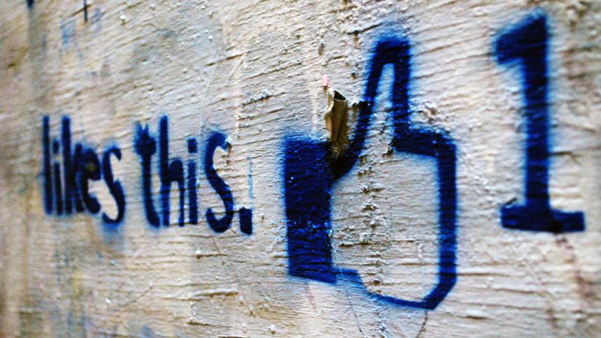 Like, Daumen, Facebook