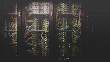 Symbolbild Serverfarm