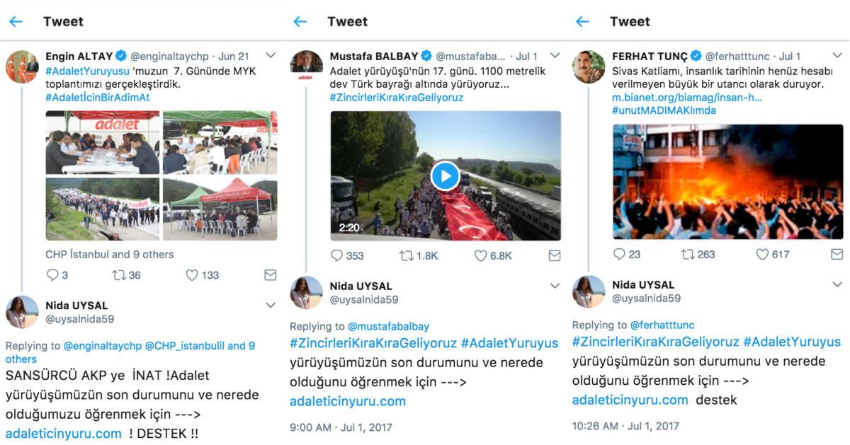 Screenshot von Twitter