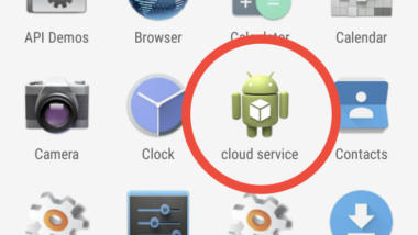 Android Icon Cloud Service