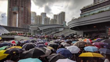 Hongkong Regenschirm-Proteste