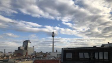 Blick aus dem Berliner Büro von netzpolitik.org
