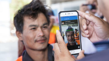 Gesichtserkennung per Handy-App