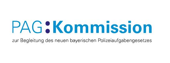 Logo der Prüfkommission zum bayerischen Polizeiaufgabengesetz (PAG)