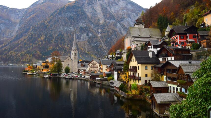 Bild von Hallstatt in Österreich