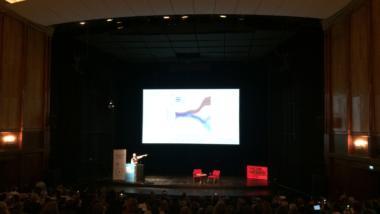 """Lawrence Lessig auf der Konferenz """"Das ist Netzpolitik!"""""""