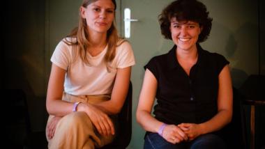 Helene von Schwichow und Katrin Fritsch