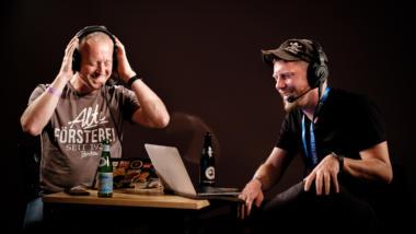 Tim Pritlove und Linus Neumann