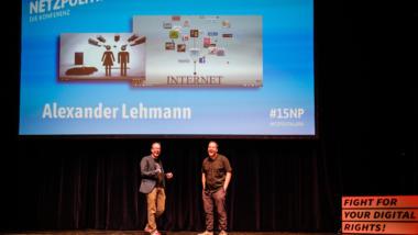 Markus Beckedahl und Alexander Lehmann