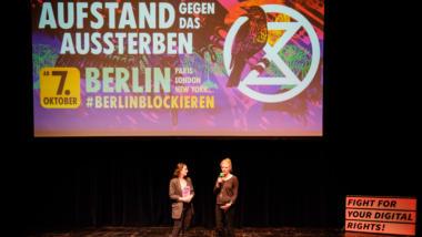 Geraldine de Bastion und Sina Kaufmann