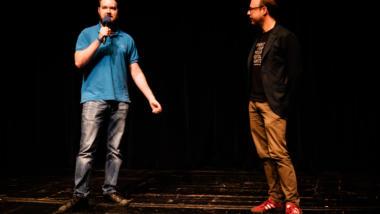 Dominik Kis und Markus Beckedahl