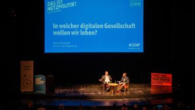 Helge Braun und Markus Beckedahl