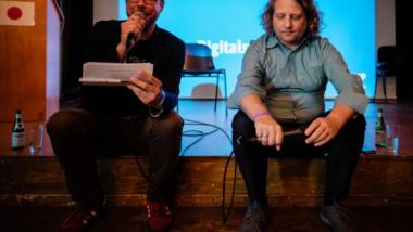 Markus Beckedahl und Christian Rickerts