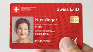 Schweiz elektronischer Pass