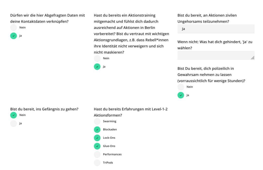Fragebogen XR