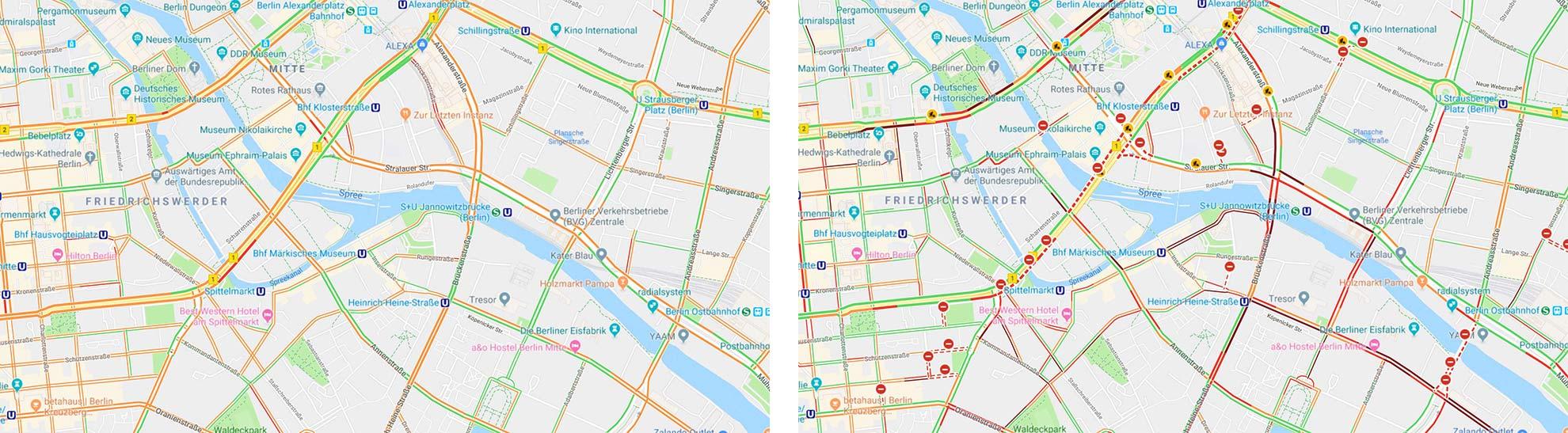 Karte Berliner Innenstadt