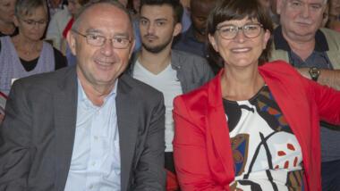 SPD-Kandidat:innen-Team Esken und Borjans