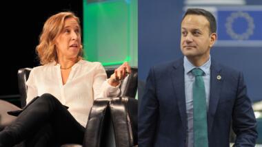 Susan Wojcicki und Leo Varadkar