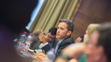 Der UN-Sonderberichterstatter zu Menschenrechten David Kaye.
