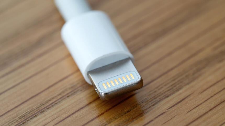 Apple Lightning Stecker