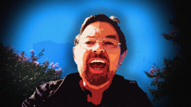 Jim Watkins in einem YouTube-Video