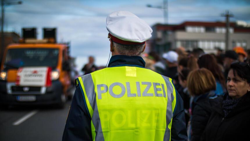 Österreichischer Polizist