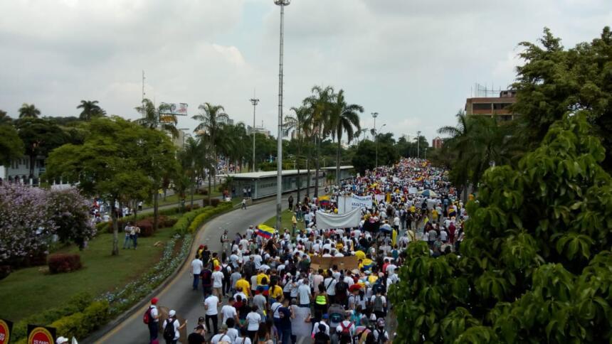 Proteste in Kolumbien: Identifizierung aus der Luft