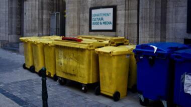 Brüsseler Müllkübel