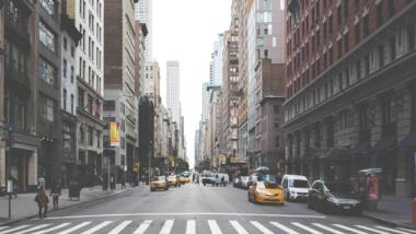 Die Straßen von New York