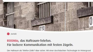 """Werbespruch von Telio """"Für lockere Kommunikation mit festen Zügeln"""""""