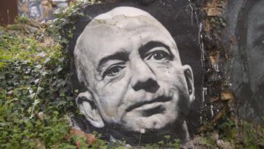 Bezos-Graffiti