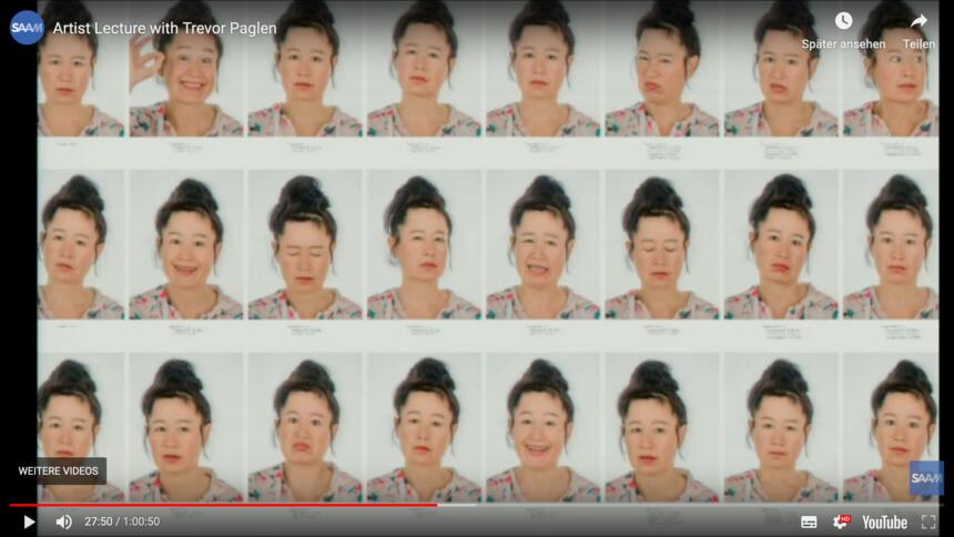 Gesichter der Künstlerin Hito Steyerl