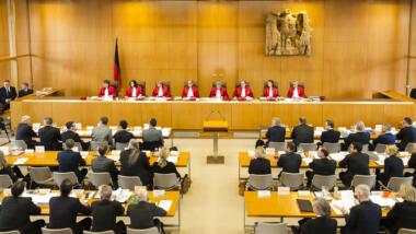 Der Erste Senat des Bundesverfassungsgerichts
