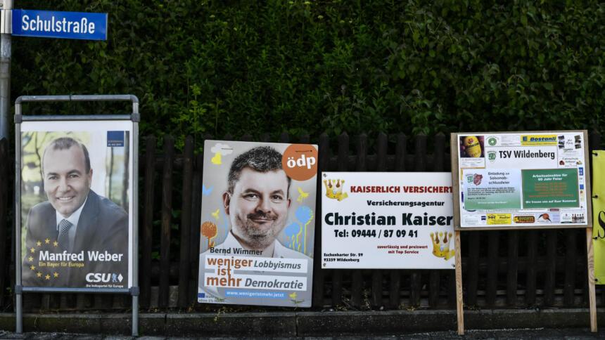 Wahlaufrufe vor der EU-Wahl 2019