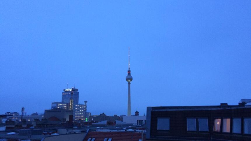 Blau, blau, blau ist der Berliner Himmel