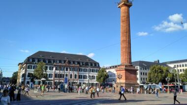 Der Darmstädter Luisenplatz