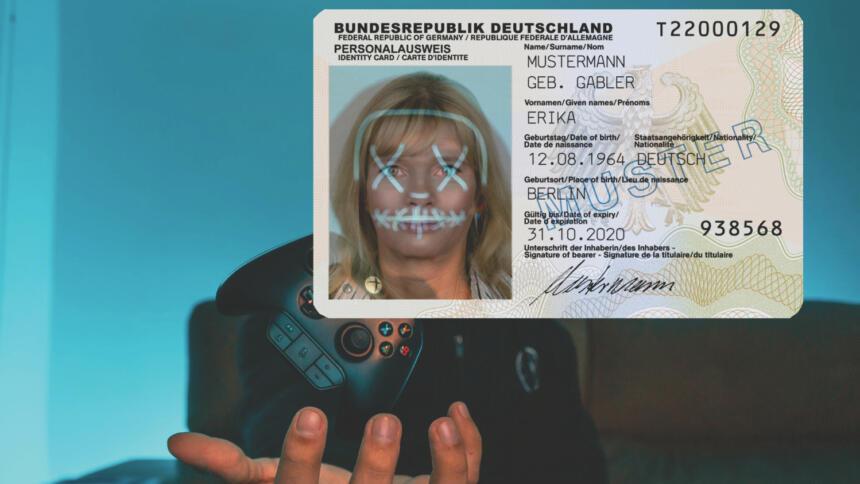 Erika Mustermann als Gamerin