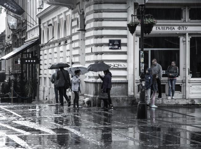 Die Straßen von Belgrad