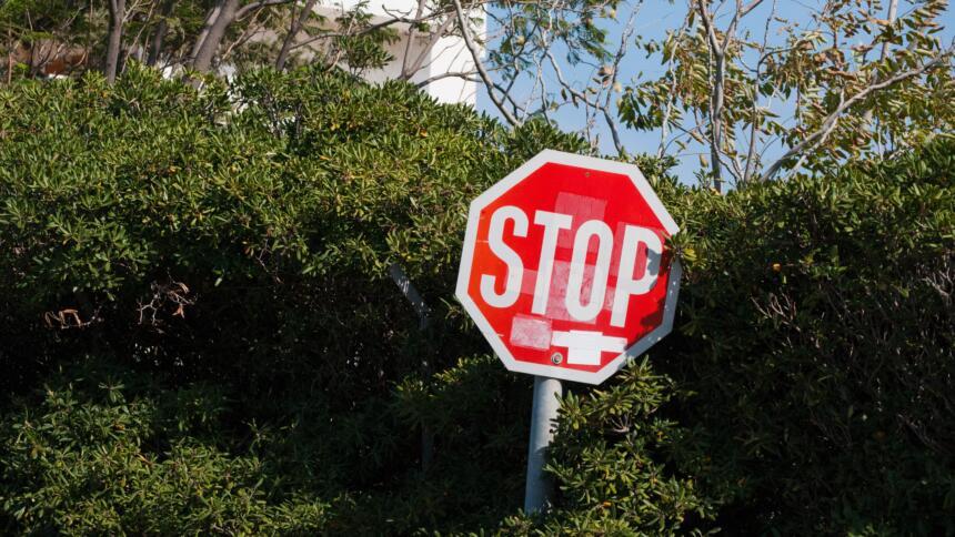 Stopp-Schild