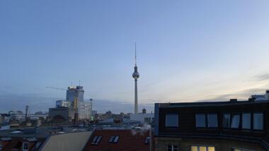 Der Turm sieht alles.