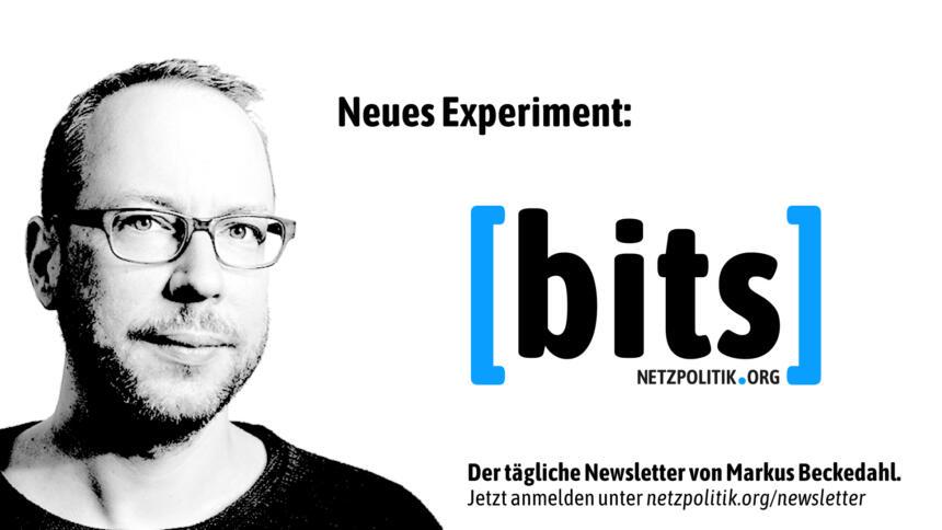 Der wochentägliche bits-Newsletter ist für uns ein neues Experiment.
