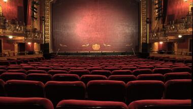 leere Theaterbühne