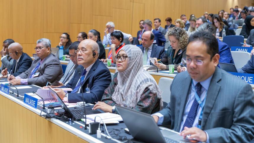 Bild von der Versammlung der WIPO-Mitglieder aus dem September 2019