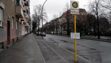 Tristes Straßenbild