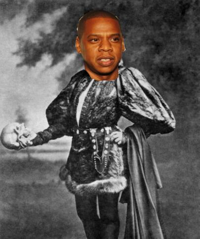 Jay-Z als Hamlet