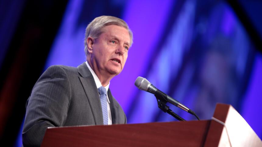 Der US-Senator Lindsey Graham
