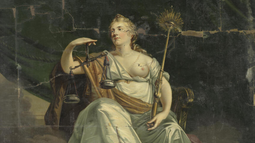 Göttin Justitia