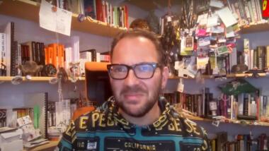 Cory Doctorow im Screenshot