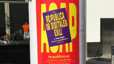 re:publica im digitalen Exil